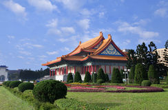National Concert Hall and its Garden. A shot of the national concert hall in Taipei City, Taiwan Stock Image