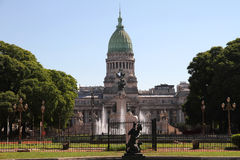National Congress of Argentina Stock Images