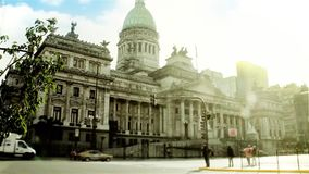 National Congress of Argentina stock video