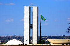 National Congress of brazil brasilia Royalty Free Stock Photography