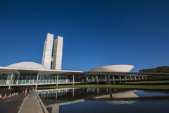 National Congress Building - Brasília - DF - Brazil Stock Photos