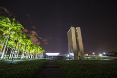National Congress Building - Brasília - DF - Brazil Royalty Free Stock Photos