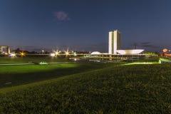 National Congress Building - Brasília - DF - Brazil Royalty Free Stock Photo