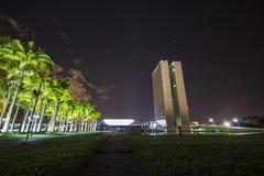 National Congress Building - Brasília - DF - Brazil Royalty Free Stock Photos