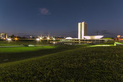 National Congress Building - Brasília - DF - Brazil Royalty Free Stock Photo