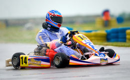 National contest of karting 2010 Royalty Free Stock Image