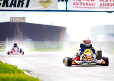 National contest of karting 2010 Stock Photography