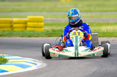 National contest of karting organized by Amckart Royalty Free Stock Image