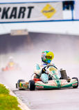 National contest of karting organized by Amckart Royalty Free Stock Images