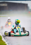 National contest of karting organized by Amckart Royalty Free Stock Photos