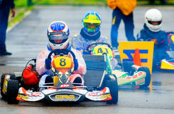 National contest of karting organized by Amckart Stock Photo