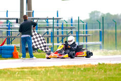 National contest of karting organized by Amckart Stock Photos