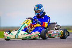 National contest of karting organized by Amckart Royalty Free Stock Photo