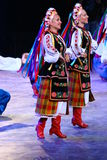 National costume of Russia. In festival Royalty Free Stock Images