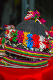 National costumes, Thailandia. It is the hat worn by girls in Thailand Royalty Free Stock Photo