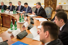 National Council of the reforms in Kiev. Ukraine Stock Photo