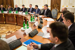 National Council of the reforms in Kiev. Ukraine Stock Photography