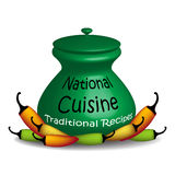 National cuisine Royalty Free Stock Photography