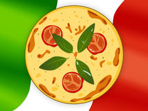 National cuisine. Pizza. Stock Photos