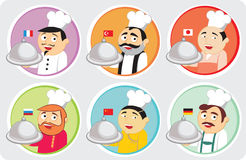National cuisines Stock Photo