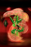 National dance. Chinese dance, there are a lot of performance in the Chinese New Year Royalty Free Stock Photo