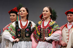 National dance troupe of Poland - Mazowsze Stock Photos