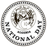 National day Algeria Stock Photos