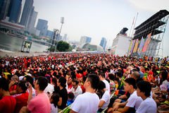 National day audience Royalty Free Stock Photography