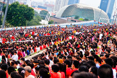 National day audience Royalty Free Stock Image