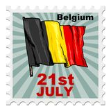 National day of Belgium Royalty Free Stock Image
