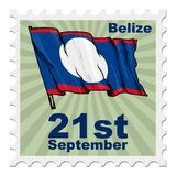 National day of Belize Royalty Free Stock Photography