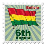 National day of Bolivia Stock Image