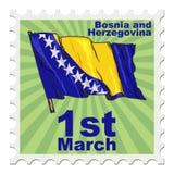 National day of Bosnia and Herzegovina Stock Images