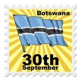 National day of Botswana Stock Images
