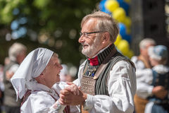 National day celebration in Sweden Royalty Free Stock Photo