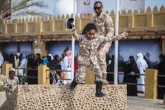 National day, Doha, Qatar stock image