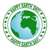 National Day of the Earth-01. National Day of Protection  Earth, the environment. Day of the ecologist. Symbolic image of the earth on a white background. Oak Stock Image