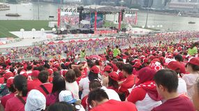 National Day Parade 2015 Royalty Free Stock Image