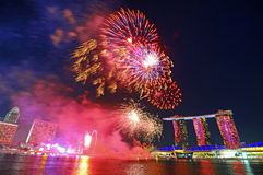 National Day, Singapore Royalty Free Stock Photos