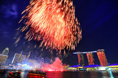 National Day, Singapore Royalty Free Stock Photography
