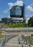 national de bibliothèque du belarus Image stock