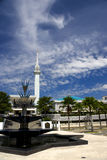 national de mosquée de la Malaisie Photographie stock libre de droits