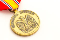 National Defense Medal Stock Photography