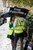 National Demo: Justice Now - Make it right for Palestine London. 4th November 2017, London, United Kingdom:-Pro Palestine demonstrators march through London Stock Photography