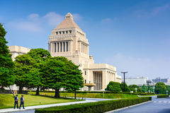 National Diet Building of Japan Stock Image