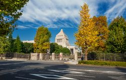National Diet Building in Tokyo Royalty Free Stock Photos