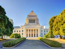 National Diet House of Japan Stock Images