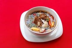 National dish borsch. Closeup Royalty Free Stock Image