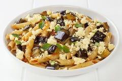 Pasta alla Norma Sicilian National Dish Stock Images