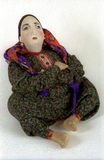 National doll1. National doll. Sitting woman. Turkmenistan Royalty Free Stock Photo